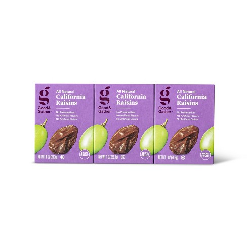Raisins - 6ct/1 oz - Good & Gather™ - image 1 of 3