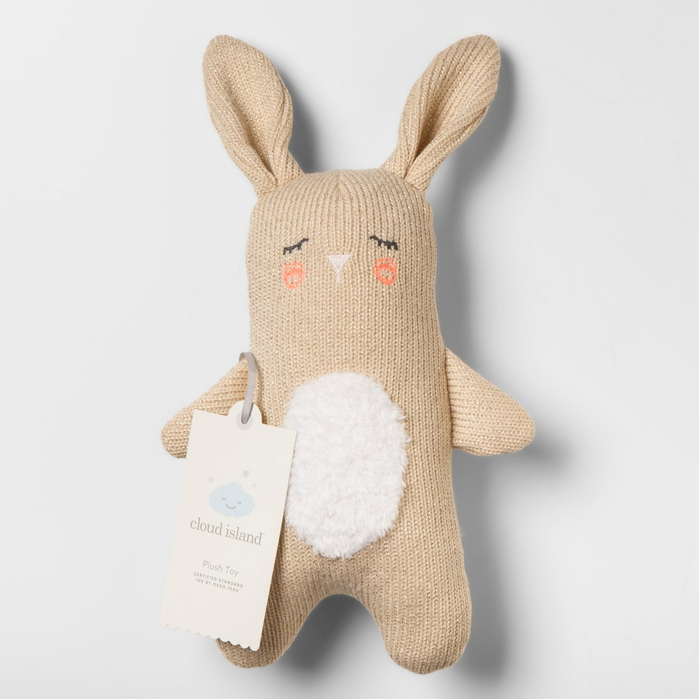 Plush Knit Bunny - Cloud Island Tan