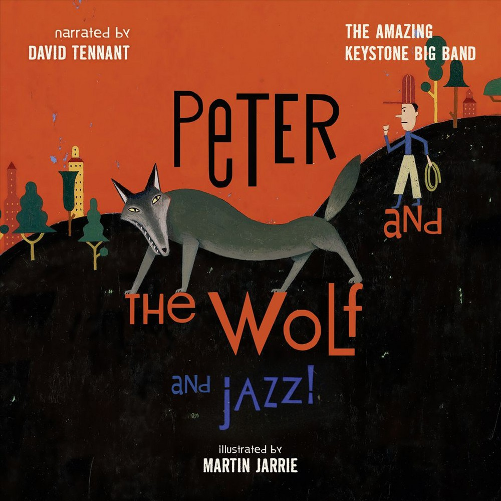 David Tennant - Peter And The Wolf And Jazz (CD)