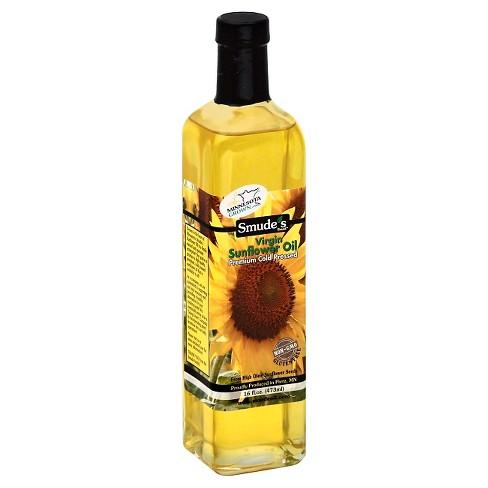 Smude Premium Cold Pressed Virgin Sunflower Oil - 16oz - image 1 of 1