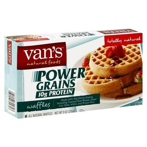 Van's Power Grains Protein Frozen Waffles - 9oz - image 1 of 1