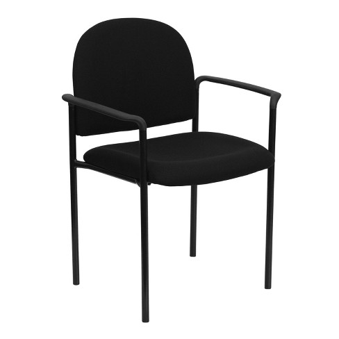 Riverstone Furniture Collection Fabric Stack Chair Black - image 1 of 4