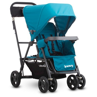 Joovy Caboose Ultralight Graphite Stroller - Turquoise