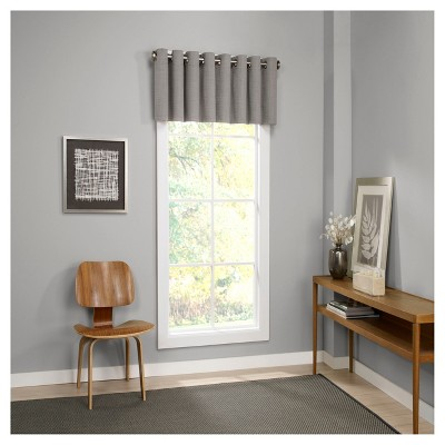 Palisade Thermalined Window Valance Gray (52 x18 )- Eclipse™