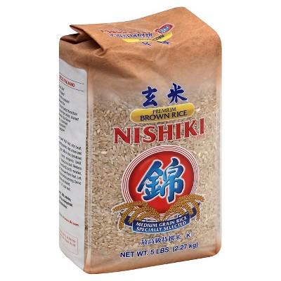 JFC Nishiki Medium Grain Brown Rice - 5lb