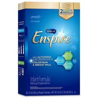 Enfamil 2pk Enspire Infant Formula Powder Refill Box - 30oz