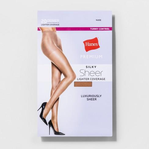 9849ebf81 Hanes® Premium Women s Silky Sheer Control Top Pantyhose   Target