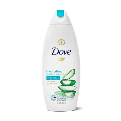 Dove go Fresh Aloe & Birch Body Wash - 22 fl oz
