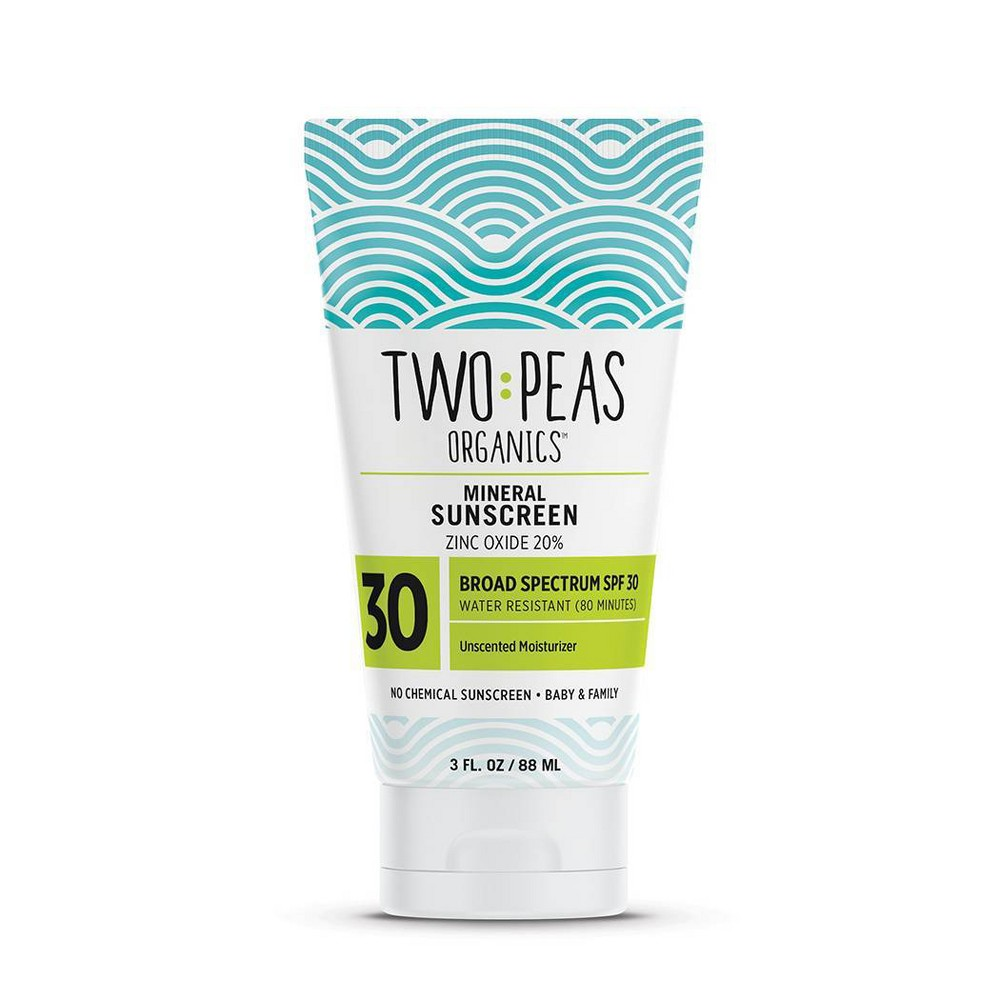 Image of Two Peas Organics Mineral Sunscreens - SPF 30 - 3 fl oz