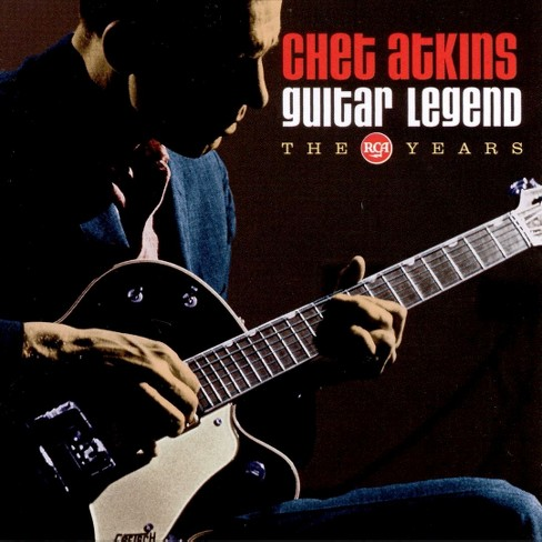 Chet atkins - Guitar legend-rca years (CD) - image 1 of 1
