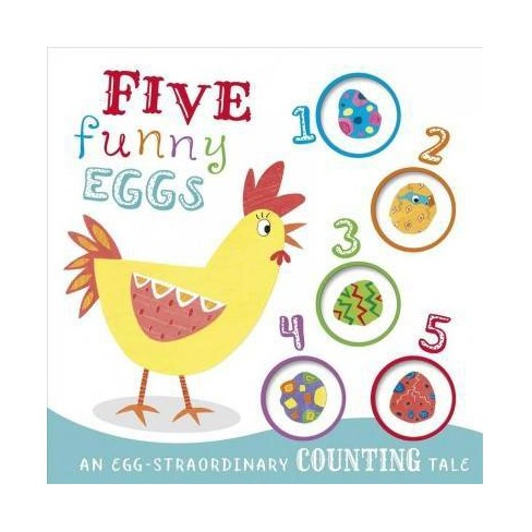 Five Funny Eggs - by  Igloo Books (Board_book) - image 1 of 1