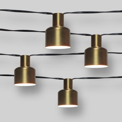 10ct Modern String Lights - Gold - Project 62™