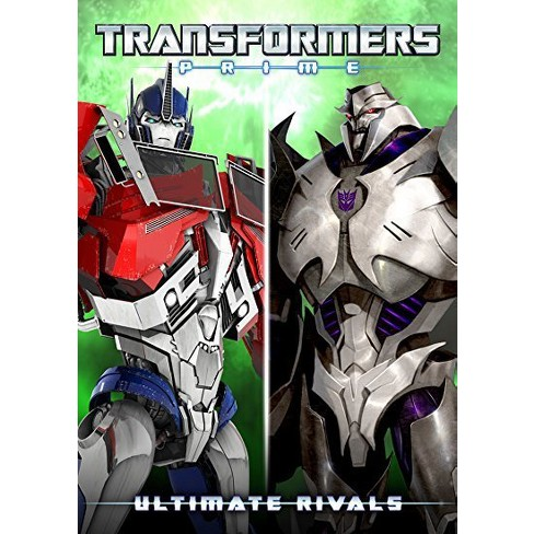 transformers prime ultimate rivals dvd target