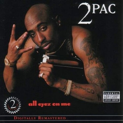 2Pac - All Eyez on Me [Explicit Lyrics] (CD) - image 1 of 1