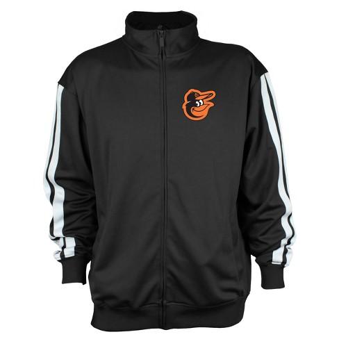 Baltimore Orioles Men's Zip-Up Track Jacket - XXL - image 1 of 2