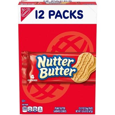 Nutter Butter Peanut Butter Sandwich Cookies - 22.8oz / 12ct