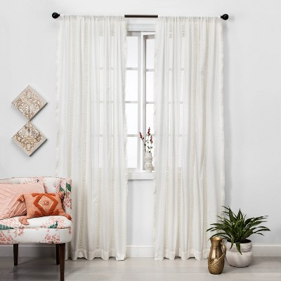 Lace Curtains Yard Target