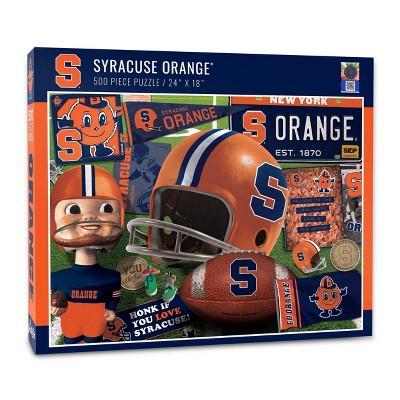 NCAA Syracuse Orange Throwback Puzzle 500pc