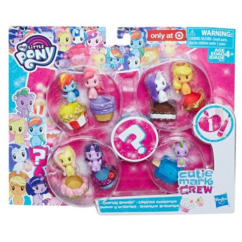 e40a7f0d8c2 My Little Pony Cutie Mark Crew Series 1 Sparkly Sweets   Target