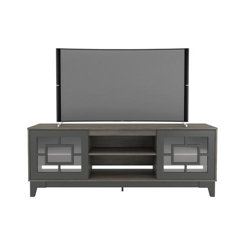 "72"" Magnolia Tv Stand Charcoal Gray - Nexera - image 1 of 4"