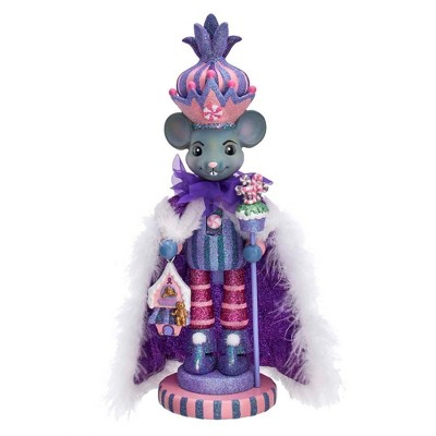 "Kurt Adler 15"" Hollywood Sugar Plum Mouse King Nutcracker"