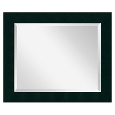 "20""x 24"" Tribeca Black Framed Wall Mirror - Amanti Art"