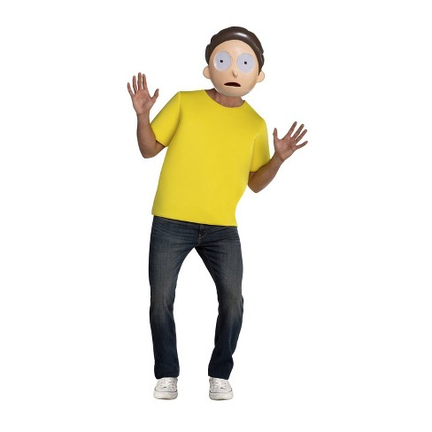 Adult Rick & Morty Morty Halloween Costume - image 1 of 1