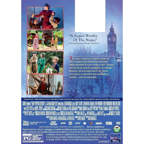 Mary Poppins Returns (DVD)