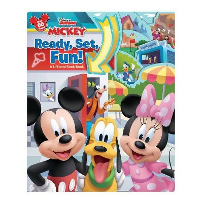 Mickey Ready, Set, Fun! : A Lift-and-seek Book -  BRDBK (Lift-and-seek) (Hardcover)