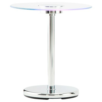 Adelphi LED Accent Table Chrome - Inspire Q