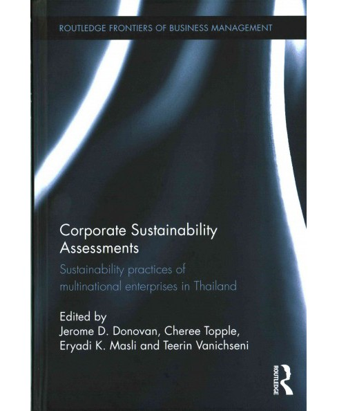 Corporate Sustainability Assessments : Sustainability Practices of Multinational Enterprises in Thailand - image 1 of 1