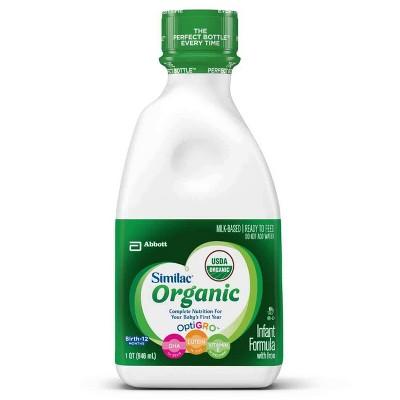 Baby Formula: Similac Organic