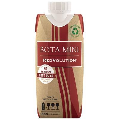Bota Mini RedVolution Red Blend Wine - 500ml Box