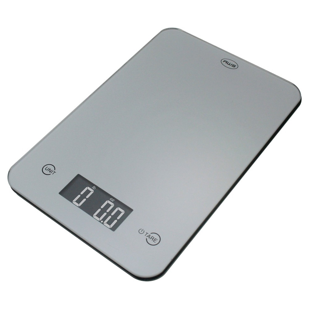Image of AWS Digital Kitchen Scale - Silver