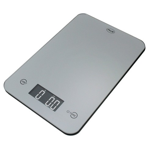 AWS Digital Kitchen Scale - Silver - image 1 of 1