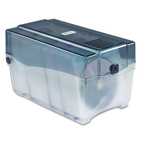 Innovera CD/DVD Storage Case - Holds 150 Discs - image 1 of 4