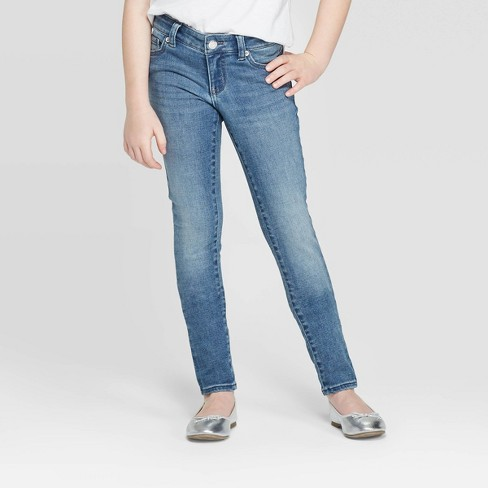 Girls' Ultimate Stretch Skinny Jeans - Cat & Jack™ - image 1 of 3
