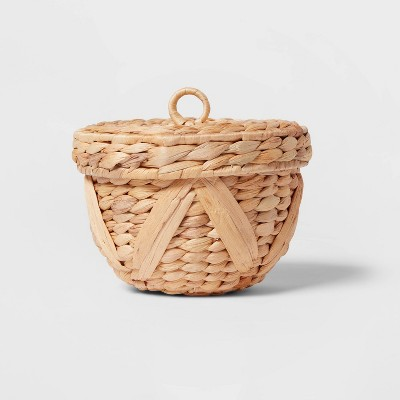 Small Woven Chevron Canister Natural - Opalhouse™