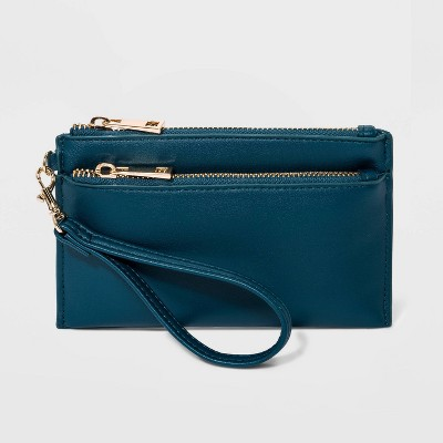 Wristlet Pouch  - A New Day™ Blue