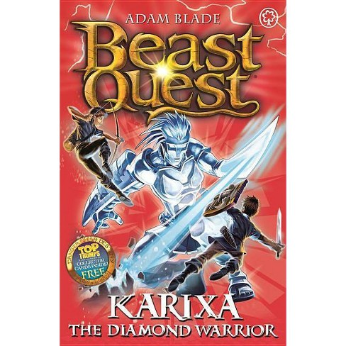 Beast Quest: 98: Karixa the Diamond Warrior - by  Adam Blade (Paperback) - image 1 of 1