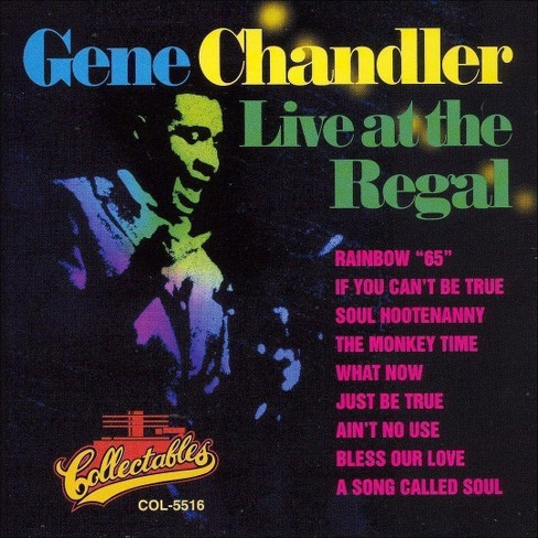 Gene chandler - Live at the regal (CD) - image 1 of 1