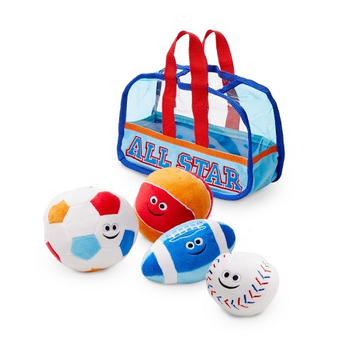 Melissa & Doug® Sports Bag Fill and Spill Baby and Toddler Toy - image 1 of 4