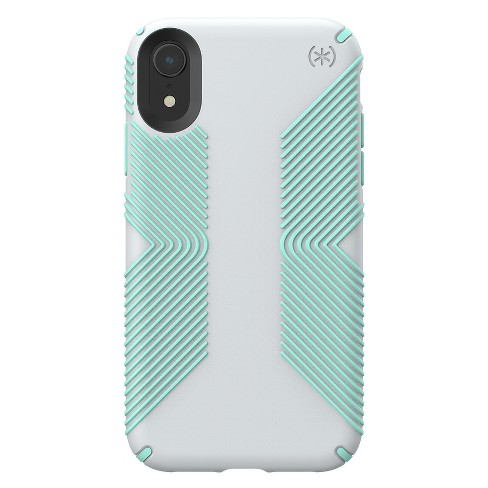 reputable site 70789 b3d1a Speck Apple iPhone XR Presidio Grip Case - Dolphin Gray/Aloe Green