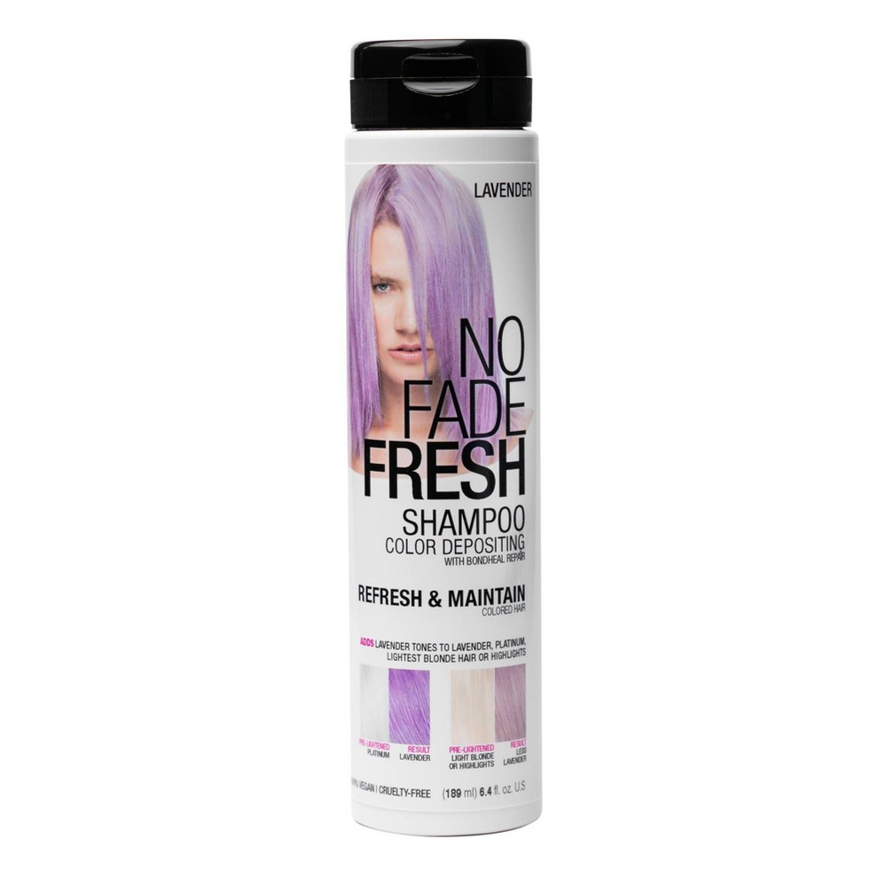 Image of No Fade Fresh Color Depositing Shampoo - Lavender