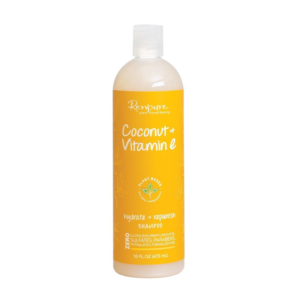 Image of Renpure Coconut and Vitamin E Hydrate + Replenish Hair Shampoo - 16 fl oz