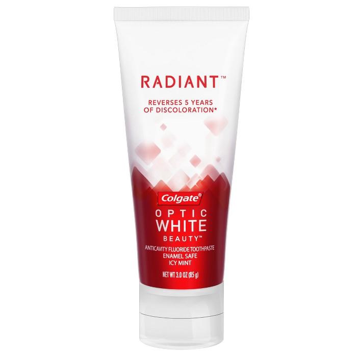 Colgate Optic White Radiant Whitening Toothpaste - 3oz - image 1 of 5