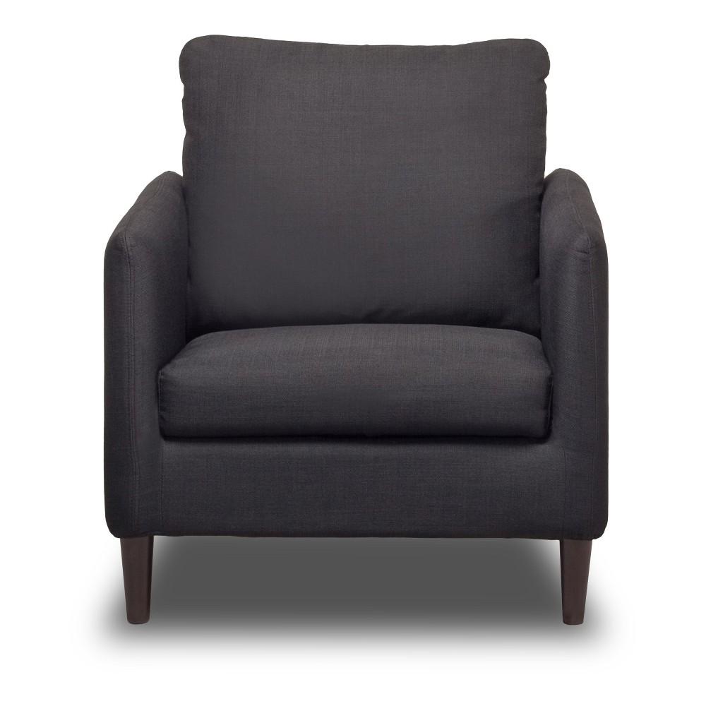Crosby Chair Charcoal (Grey) - Sofas 2 Go
