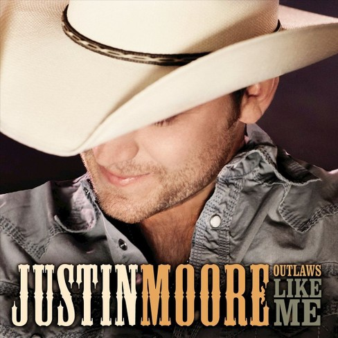 Justin Moore - Outlaws Like Me (CD) - image 1 of 1
