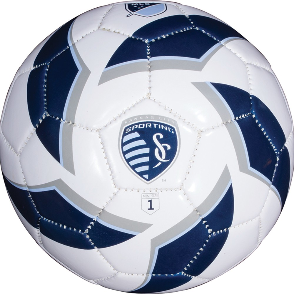 Franklin Sports Team Size 1 Soccer Ball Sporting Kansas City The Franklin Sports Mls Size 1 Soccer Ball is perfect for training and improving foot skills. Training with this size 1 soccer ball helps improve touch and control for players of all ages and levels of skill. Color: Sporting Kansas City.