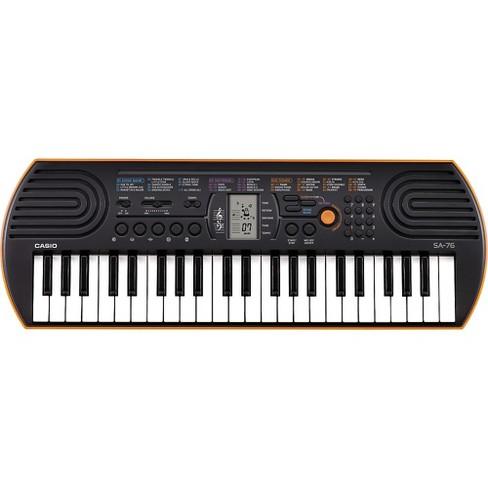 Casio SA-76 Keyboard Orange - image 1 of 3